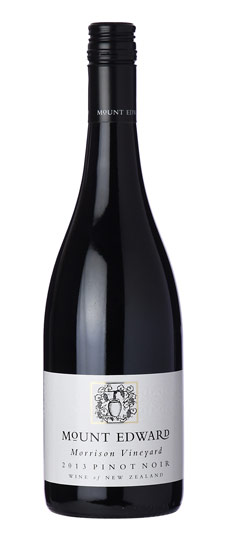 Mount Edward Morrison Single Vineyard Pinot Noir 2012