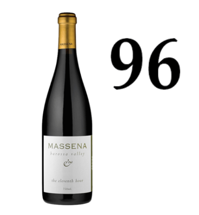 Massena 11th Hour Shiraz 2012 (JH 96)