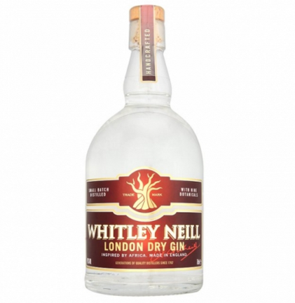 Whitely Neil Gin 700ml 43%