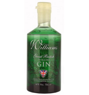 Williams Extra Dry Gin 700ml 40%
