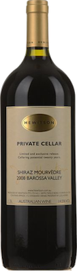 Hewitson Private Cellar Shiraz Mourvedre 2008 1.5L{Mag} JH 96