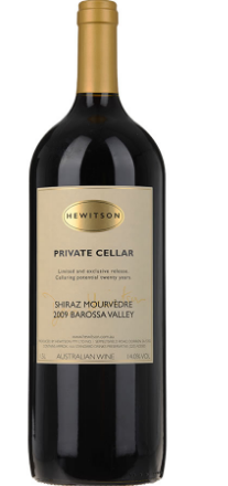 Hewitson Private Cellar Shiraz Mourvedre 2009 1.5L Magnum JH 97