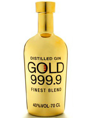 Gold Gin 999.9 (France) 700ml