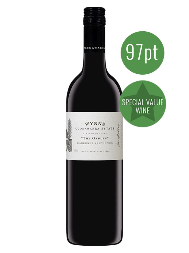 "Wynns ""The Gables"" Coonawarra Cabernet Sauvignon 2016 (JH 97)"