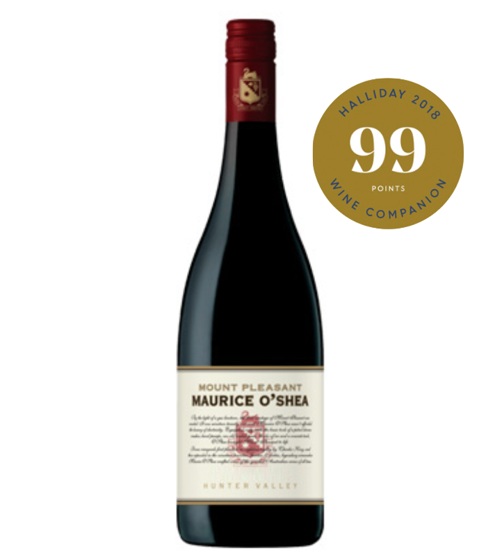 Mount Pleasant Maurice O'Shea Hunter Vally Shiraz 2014 (JH 99)