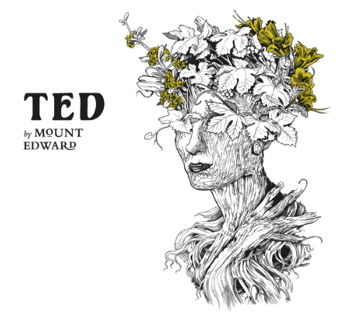 """TED"" by Mount Edward Pinot Blanc 2018"