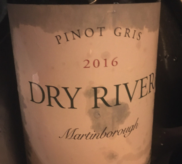 Dry River Pinot Gris 2016