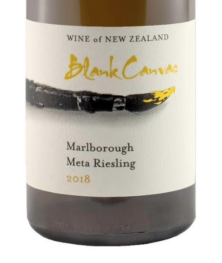 "Blank Canvas ""Meta"" Late Harvest Riesling 2018 375ml (BC 93)"