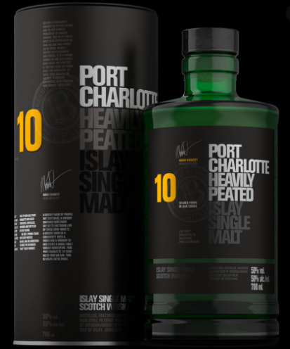 Port Charlotte 10 year Old Islay (Heavily Peated) 700ml