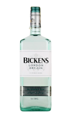 Bickens London Dry Gin 40% 1 Litre