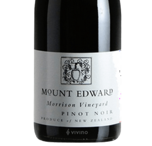 Mount Edward Morrison Single Vineyard Pinot Noir 2017 (JS 97)