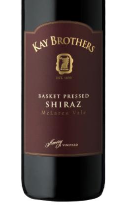 Kay Brothers Basket Pressed Shiraz 2018
