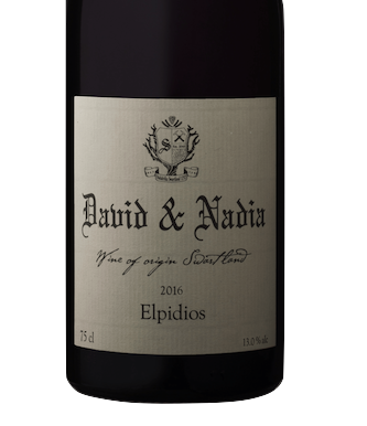 "David & Nadia ""Elpidios"" Red Blend 2017 (TA 96)"
