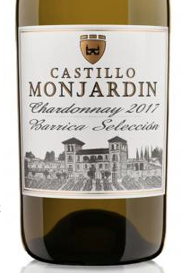 Castillo de Monjardin Chardonnay Barrel Selection 2018 (Gold)