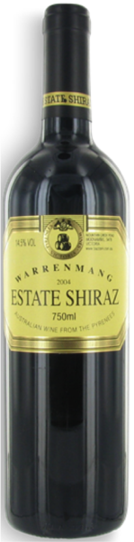 Warrenmang Estate Shiraz 2004 (JH 93)